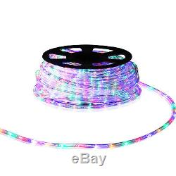 150 Ft 2-Wire 110V Rope LED Lighting Christmas Decorative Party Yard In/ Outdoor