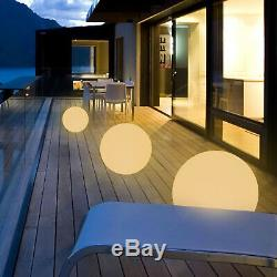 16 Changing LED Light Up Night Light Ball Decorative Lighting Home Garden Party
