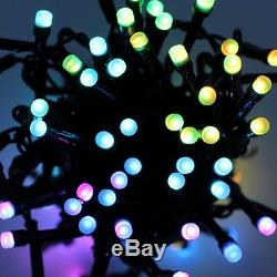17.5m Twinkly Smart App Controlled Christmas Tree LED Lights Outdoor Indoor