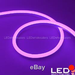 24V 15x25mm Water-Resistant RGB Color-Changing Flexible LED Neon Strip Light