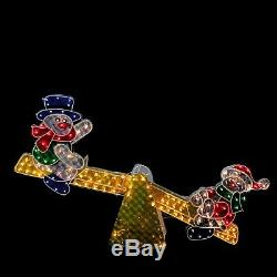 4FT Led Lighted Snowman Holiday Outdoor Indoor Christmas Yard Decoration Display