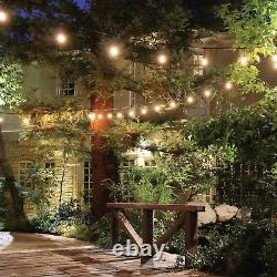 5PK 48FT LED Outdoor Waterproof Commercial Grade Patio String Light with NO bulbs