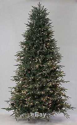 7.5' Lake Shore Blue Spruce Artificial Christmas Tree with Clear LED Lights