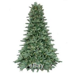 7.5 ft. Pre-Lit LED Natural Fox tail Fir Artificial Christmas Tree Clear lights