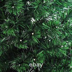 7ft Pre-Lit Fiber Optic Artificial Christmas Tree Led Lights Decorations