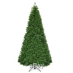 9Ft Pre-Lit Artificial Christmas Tree Premium Hinged with Stand & 1000 LED Lights