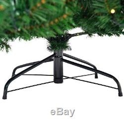 9 ft Pre-Lit PVC Artificial Christmas Tree with 700 LED Lights