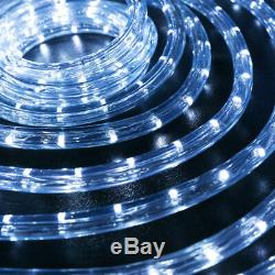 Assorted Size Cool White LED Rope Lighting Flexible Indoor Outdoor Christmas