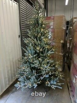 Balsam Hill Sanibel Spruce 7' Tree with Candlelight LED Lights Tree and Stand ONLY