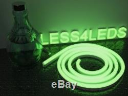 Bluetooth Neon Rope Flexible LED Strip Light RGB+W Outdoor Holiday 15 30m IP68