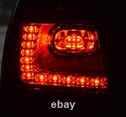 Clear Led Tail Lights Lamps For Vw Polo 9n & 9n3 10/2001-5/2009 Christmas Gift