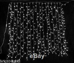 Connectable Cool White Led Curtain Lights Wedding Christmas Xmas Hotel Lighting
