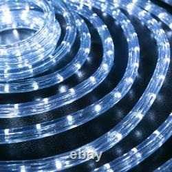 Cool White Thick LED Rope Light Accent Indoor Outdoor 10/20/25/50/100/150FT/300F