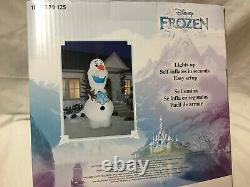 Disney Frozen 11 Ft Olaf LED Lighted GIANT Airblown Inflatable Christmas Holiday