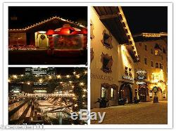 E27 Waterproof LED String Lights Party Wedding Xmas Outdoor Decor Stage Lighting