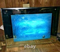 Electronic Art moving Snow fall light box moves winter pic xmas holiday toy r us