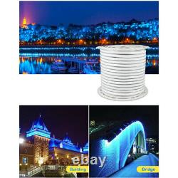 Flexible Tube LED Neon Rope Light Waterproof Strip for Room Home Party Decor