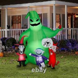 Gemmy Oogie Boogie Nightmare Before Christmas Airblown Inflatable Led Lights