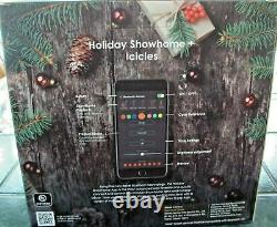 Holiday Show Home APP 48 Lights Multi-Function Color-Changing Icicle Showhome