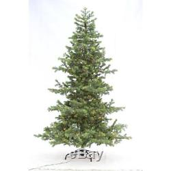 Home Accents Holiday 7.5 ft. Indoor Pre-Lit LED Christmas Tree with White Lights