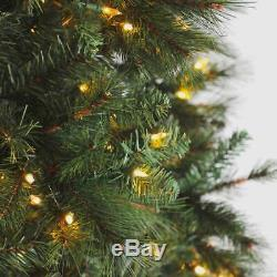 Home Heritage 12 Ft Albany Pre-Lit Christmas Tree with LED Lights (For Parts)
