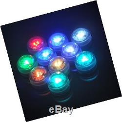 Honfeng Flameless LED Tea Lights Muti-color Bulb with Remote Control Battery