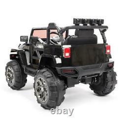 Kids Ride On Car 12V Electric Powerful Wheels Remote Control MP3 LED Light Toy