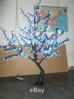 LED Christmas Light Cherry Tree 480pcs LEDs 5FT Height RGB Changing Color IP65