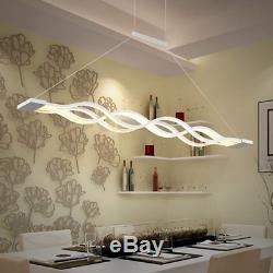 LED Pendant Light Dimmable Ceiling Hanging Lamp Modern Chandeliers Living Room