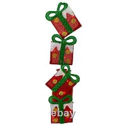 Led Lighted Holiday Outdoor Lights Christmas Yard Decoration Display Presents