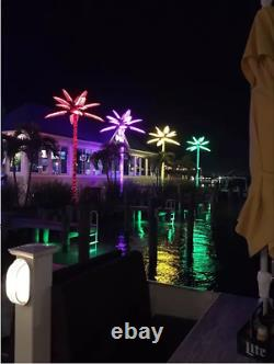Led palm tree outside Party supplies Christmas lights outdoor 15ft decoration