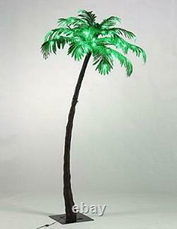Lighted Palm Tree Christmas Lights Led Outdoor Indoor Lit Up Pre Artificial Xmas