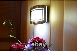Luxury Home Wireless Motion Sensor Wall LED Light Stairs Lamp Smooth Ambience HQ