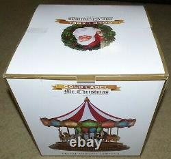 Mr. Christmas Gold Label Deluxe Marquee Carousel Animated LED Light Show