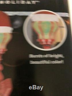 New 5FT Disney Mickey Mouse Santa Hat Projection Lamp Post Christmas LED Light