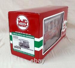 New Lgb 35075 Christmas Holiday Coach Car With Metal Wheels And Led Lights