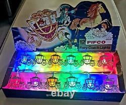 Pifco Vintage 12 Cinderella Carriage Lights. Boxed with mounts, LED conversion