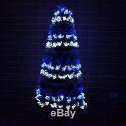 Pre Lit Light Up LED Fibre Optic Christmas Tree xmas tree with LIGHTS CHANGING