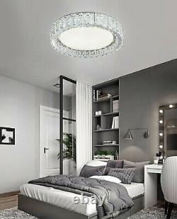 S/M/L/XL K9 Crystal Circular LED Ceiling Flush, Ceiling Light idea for UHome A++