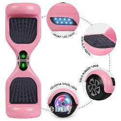 Self Balancing Electric Scooter UL2272 Hoverboard LED Light no bag Pink Xmas