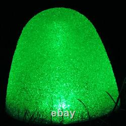Set of 10 8 Tall Sugar Coated LED Gumdrop Christmas Pathway Lights Electric