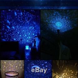 TOYS FOR BOYS 2 10 Year Old Kids LED Star Projector Night Light Girls Xmas Gift
