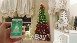 Twinkly 105 LED String Lights, Customizable, App Controlled, WiFi Enabled- EU Plug