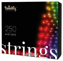 Twinkly Generation II 250 LED String Lights Customizable, App Controlled